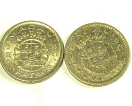 PORTUGAL COIN L2, 1968-1975 ONE PATACA COIN T1317