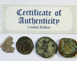 SHIPWRECK & ANCIENT COIN TREASURES  5-150   (SAT)