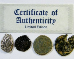 SHIPWRECK & ANCIENT COIN TREASURES  7-150   (SAT)