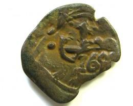 Spanish Maravedis Cob 1655?    f-12 Philip II, III, IV AC362