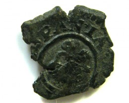 Spanish Maravedis Cob 17th C   f-12 Philip II, III, IV AC390
