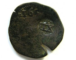 Spanish Maravedis Cob 1670?   f-12 Philip II, III, IV AC402