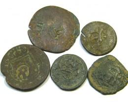 Parcel  Maravedis Cob 16-17th Cen Philip II, III, IV AC409