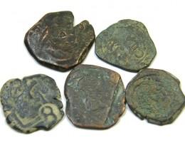 Parcel  Maravedis Cob 16-17thCent   Philip II, III, IV AC412