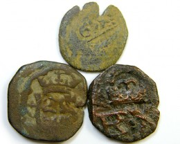 Parcel  Maravedis Cob 16-17thCent   Philip II, III, IV AC421