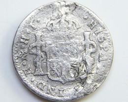 SILVER SPANISH COIN  1810    CO 32