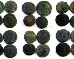 VIDEO COLLECTION OF 24 SELECTED ANCIENT  ROMAN COINS  AC 444