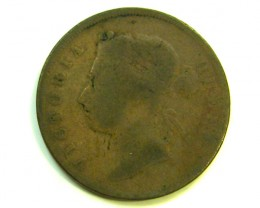 I CENT STRAITS SETTLEMENT 1873   COIN   J 375
