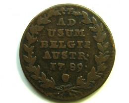 1789 BELGIUM COIN   J 384