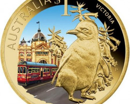 2009 CELEBRATE VICTORIA $1 COIN   OFFICAL LIST PRICE