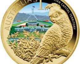 2009 CELEBRATE AUSTRALIAN CAPITAL COIN OFFICAL LIST PRICE