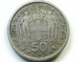1964 GREECE COIN   J 420