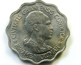 5 pestas GHANA 1965 COIN   J 428