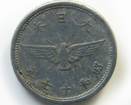 ALUMINIUM CHINA COIN   J 440
