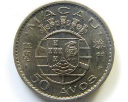 PORTUGUESE MACAO 1973 COIN   J 443