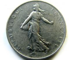 FRANCE 1966 1 FRANC COIN   J 446