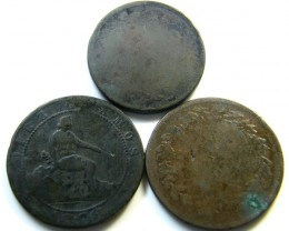 PARCEL 3 WORN 1800?FRANCE  COIN S  J 474