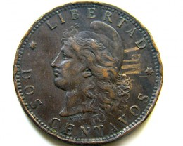 1893 ARGENTINA   COIN   J 491