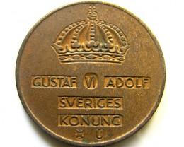 SWEDEN 1961   5  ORE  COIN   J 498