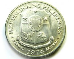 PHILIPPINES   1 PESO COIN   J 500