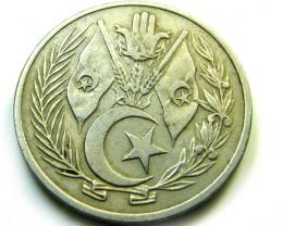 1964 ALGERIA  COIN   J 510