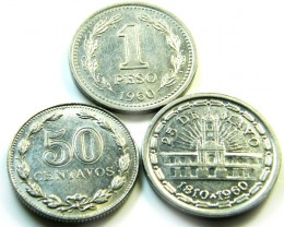 PARCELTHREE ARGENTINA  COIN S 1960-1941  J512
