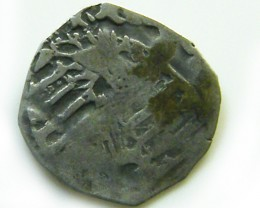 ANCIENT14TH  HUNGARIAN MEDIEVAL SILVER  COIN   J528