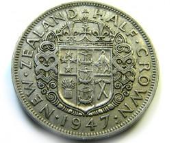 1947 HALF CROWN   COIN   J538