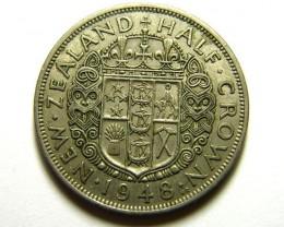 HALF CROWN    COIN   1948          OP 469