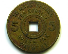 TAX TOKEN  MISSISSIPPI    CO -231