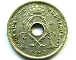 1932 BELGIUM 5 CENTIMES   COIN   J584