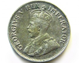 SOUTH AFRICA SILVER 3 PENCE 1924 COIN   J 609
