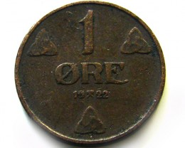 norway 1 ore 1922   COIN   J 656