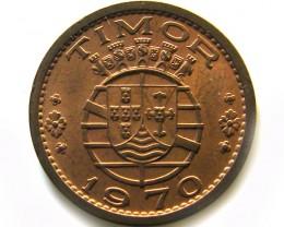 PORTUGUESE TIMOR  50 CENTAVOS 1970