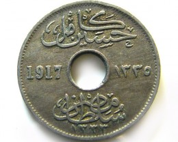 EGYPT 5 MILIMES 1917   COIN   J 669