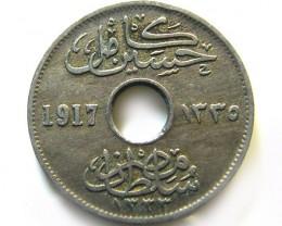 EGYPT 5 MILIMES 1917   COIN   J 669