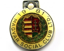 MAGAYAR SOCIAL CLUB BADGE TOKEN J 676