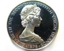 UNC VIRGIN ISL 1979 25 CENTS    COIN   J 682