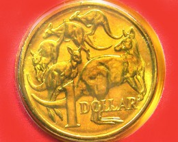 1984 UNC ONE DOLLAR COIN FIRST ISSUE  CO 242