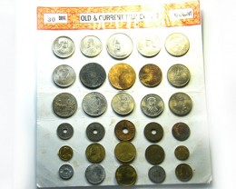 SET 30 ANCIENT AND MODERN  THAILAND COIN COLLECTION  CO 280