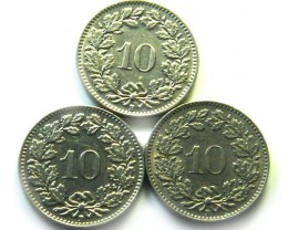 3  SWISS10 CEMES    COIN  1934 1957   J 857
