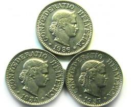 3  SWISS10 CEMES    COIN  1934 1957   J 695
