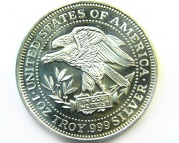 ONE COIN FROM THE STRATEGIC SILVER STOCKPILE IN 1981CO 318