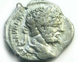 ROMAN SILVER DENARII  SEPTIMUS SEVERUS  AC 468