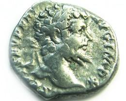 ROMAN SILVER DENARII  SEPTIMUS SEVERUS  AC 469
