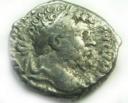 ROMAN SILVER DENARII  SEPTIMUS SEVERUS   AC 486