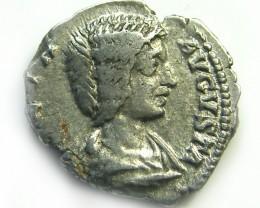 ROMAN SILVER DENARII JULIA DOMNA  AC 494