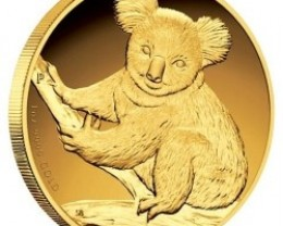 Australian Koala 2009 Gold Proof Coin  1 oz