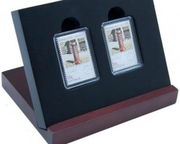 200 Years of Postal Services 'Early Post Box' Stamp-Coin Set