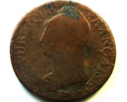 1797  LUNSIX FRANCE 5 CENTIMC   COIN    CO364